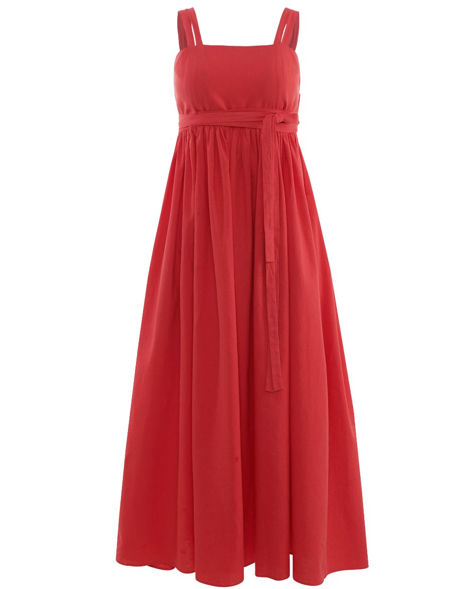 Sundress_Linen_red