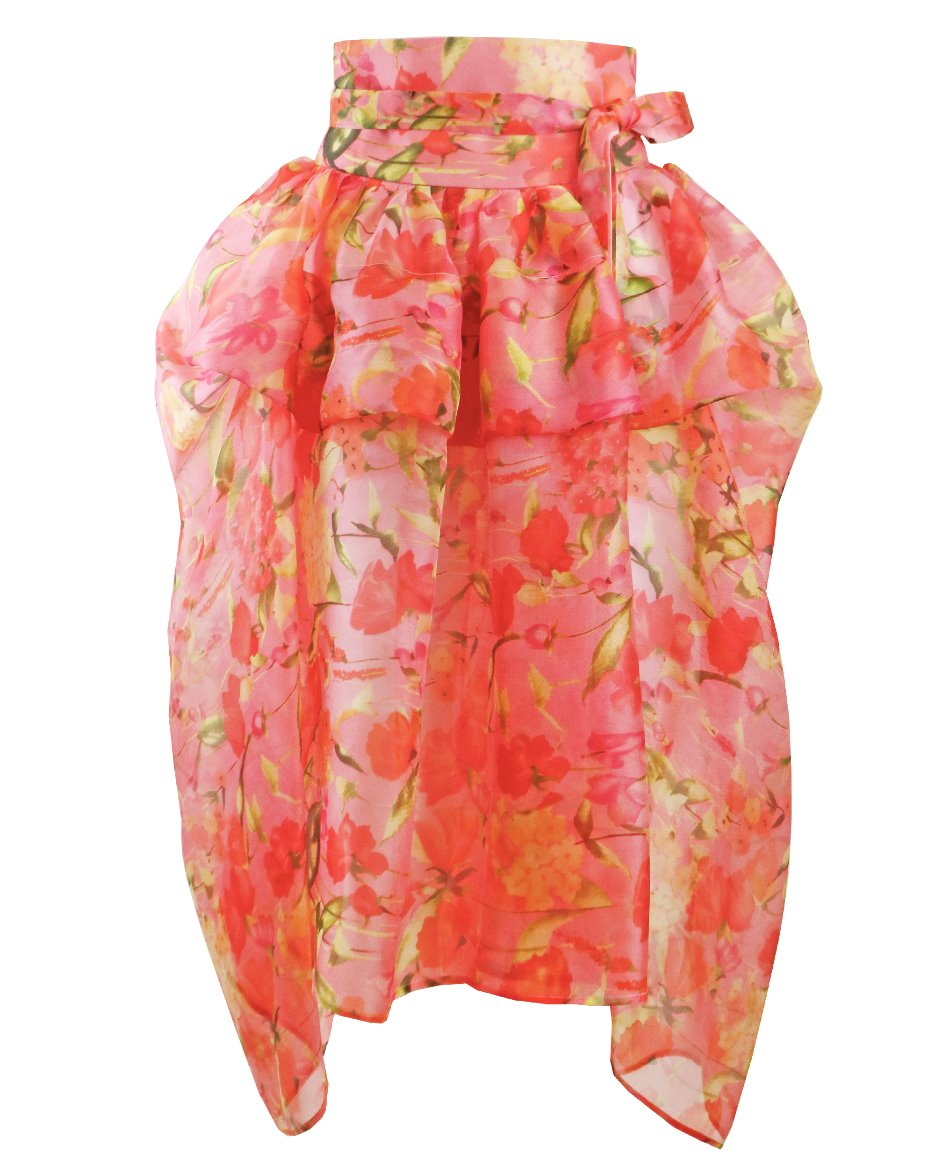 G) Waisted Wrap Skirt_floral_pk