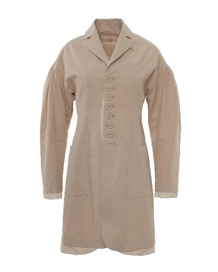 RomanticCoat_Linen/Cotton