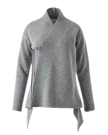 Knit Yeonan JK_Light gray